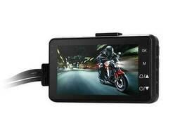 Видеорегистратор для мотоцикла с двумя камерами Leshp SE300, угол обзора 120 градусов