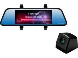 Видеорегистратор-зеркало Prestigio с 2 камерами, авторегистратор АССОРТИМЕНТ