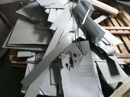 Композитные алюминиевые панели б/у, отходы, обрезки