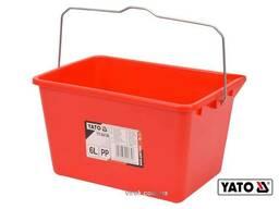 Відро пластикове для малярних робіт YATO 6 л