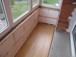 Виды утеплителей для балкона