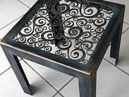Кований стол в наличии и под заказ. Кованый стол Буча, Ирпень.