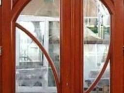 Вікна та двері з масиву деревини