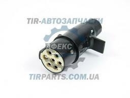 Вилка электрическая 24V 7 с пальцем S тип (81254326008MAN. ..