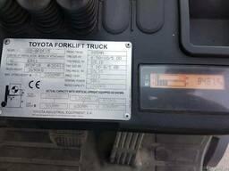Вилочный погрузчик Тойота 1.5 т дизель, 2012 - фото 4