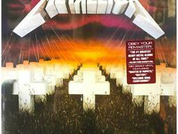 Виниловая пластинк Metallica - Master Of Puppets LP 1986/2016 (BLCKND005R-1)