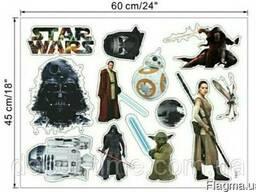 Виниловые наклейки Star Wars на стену (027)