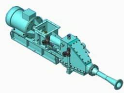 Винтовой насос (пневматический) для цемента, 60т/час