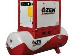 Винтовые компрессоры Ozen Spark на воздушном ресивере
