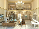 VIP дизайн интерьера квартиры, коттеджа - фото 5