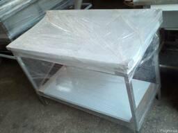 Виробничій стіл із нержавіючої сталі для їдальні 1000*600*85