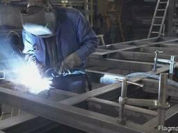 Зварювальні роботи. Металоконструкції. Вироби з металу