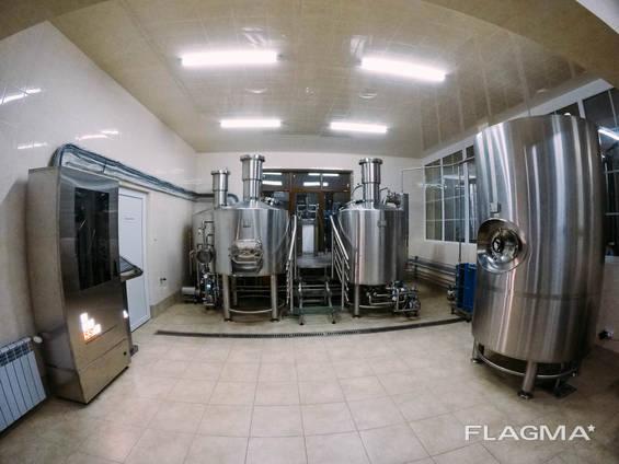 Виробництво міні пивоварень під ключ.