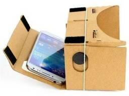 Виртуальные очки VR из картона Google Cardboard