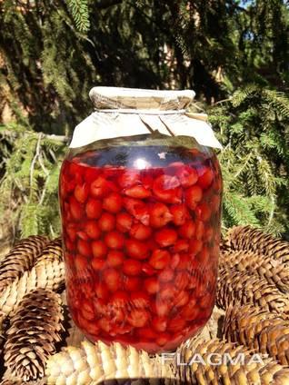 Вишня в вишневом соку без косточки c/б СКО 3000 г