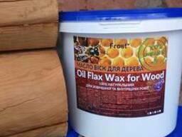 Льняне масло захищає дерев'яні покриття від надмірної