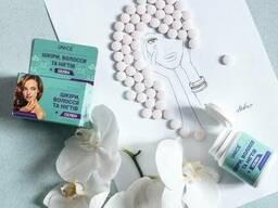 Витаминная добавка Unice для улучшения состояния кожи, волос, ногтей + Селен, 60 таб.
