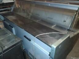 Витрина холодильная 2м. б\у; Витрина 2м бу - photo 2