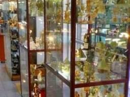 Витрины торговые, витрины стеклянные, профильные витрины