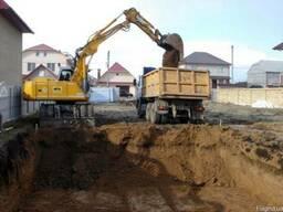 Вивіз будівельного сміття, грунту, земляні роботи