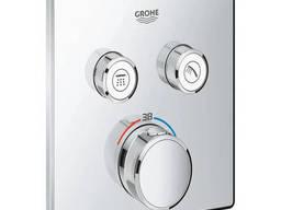Внешняя часть термостатического смесителя для душа Grohe Grohtherm SmartControl. ..