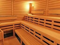 Внутренняя обшивка для бани из дерева