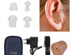 Внутриушной слуховой аппарат Axon K-88 Аксон К-88 с зарядным устройством на аккумуляторе