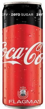 Вода Coca-Cola Zero 1л