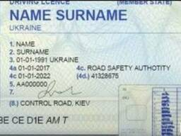 Help in getting a Ukrainian Driving License for non-resident