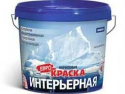 Водоэмульсионная краска Farbitex интерьерная 3 кг.