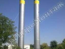 Водонапорные башни ВБР 100, 160 м. куб Изготовление и монтаж