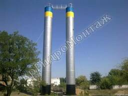 Водонапорные башни ВБР-160 Изготовление, монтаж и установка