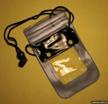 Водонепроницаемый силиконовый чехол для телефона/документов