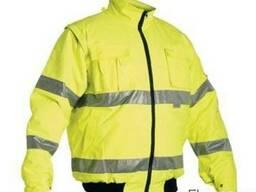 Ветровка сигнальная, куртка сигнальная с свп