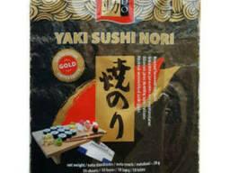 """Водоросли Нори """"Gold"""" YAKI Sushi 50 шт"""