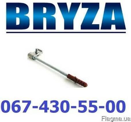 Водосток Бриза крюк хомута металлический 120-250мм. BRYZA