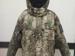 Куртка камуфляжная утепленная