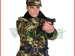 Военная форма для охраны, берцы, снаряжение, шевроны от прои