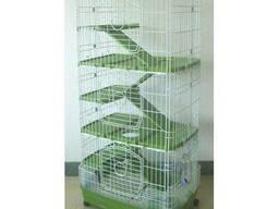 Вольер клетка для грызунов, хищников, попугаев и птиц F23B