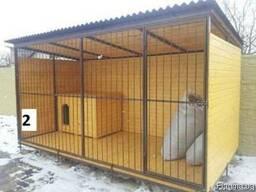 Вольеры для собак в Харькове