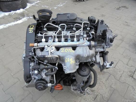 Volkswagen Passat B6 2005-2010 Двигатель 2,0TDI разборка б\у