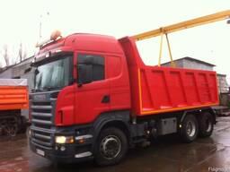 Volvo. Scania Переоборудование тягачей в самосвал