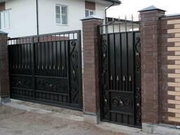 Ворота кованые и металлические Изготовление любой сложности