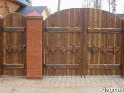 Ворота c калиткой