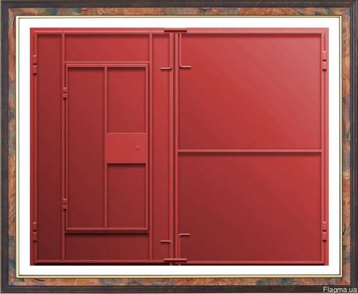 Сварные ворота для металлических гаражей петрозаводск куплю гараж на древлянке