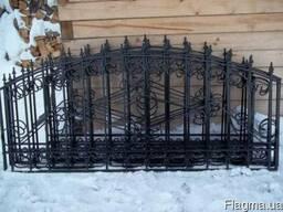 Ворота, двери, калитки, оградки