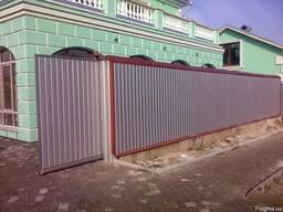 Ворота дворовые откатные
