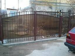 Ворота гаражные,котеджные,дачные и ограждения под заказ