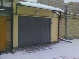 Ворота гаражные металлические распашные №1