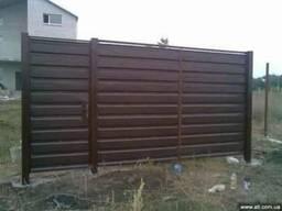 Ворота гаражные, въездные, распашные, откатные, секционные.